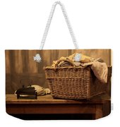 Old Style Laundry Weekender Tote Bag