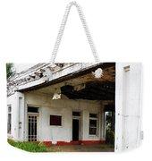 Old Texas Gas Station Weekender Tote Bag