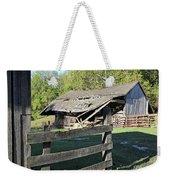 Old Tilted Barn Indiana Weekender Tote Bag