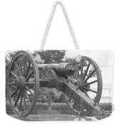 Old Time Cannon Weekender Tote Bag