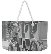 Old Time Horse And Buggy Weekender Tote Bag
