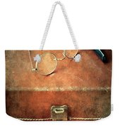 Old Time Travel Weekender Tote Bag
