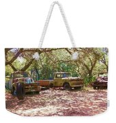 Old Time Trucks Weekender Tote Bag
