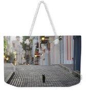 Old Town Alley Cat Weekender Tote Bag