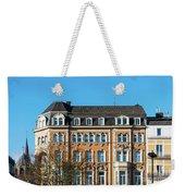 old Town buildings in Aachen, Germany Weekender Tote Bag