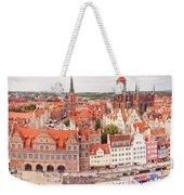 Old Town Gdansk Weekender Tote Bag