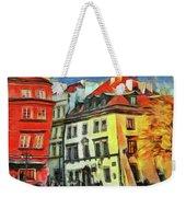 Old Town In Warsaw # 27 Weekender Tote Bag