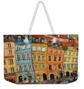 Old Town In Warsaw # 32 Weekender Tote Bag
