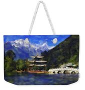 Old Town Of Lijiang Weekender Tote Bag