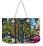 Old Town Santa Barbara Weekender Tote Bag