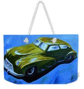 Old Toy Car Weekender Tote Bag