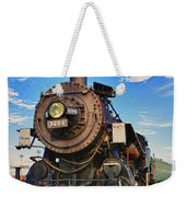 Old Train Weekender Tote Bag