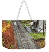 Old Train Station Norwich Vermont Weekender Tote Bag