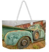 Old Truck Weekender Tote Bag