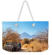 Old Truck In San Pedro De Atacama Weekender Tote Bag