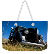 Old Truck Low Perspective Weekender Tote Bag