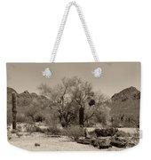 Old Tucson Landscape  Weekender Tote Bag
