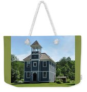 Old Two Room School House Weekender Tote Bag