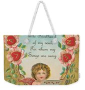 Old Valentine Design Four Weekender Tote Bag