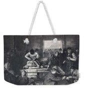 Old Varsity Men Break In And Give Advice, First State By George Bellows  Weekender Tote Bag
