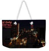 Old Vegas Weekender Tote Bag