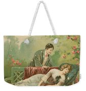 Old Victorian Era Valentine Card Weekender Tote Bag