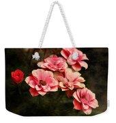 Old Victorian Fuchsia Pink Rose Weekender Tote Bag