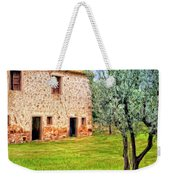 Old Villa And Olive Trees Weekender Tote Bag