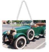 Old  Vintage Car Weekender Tote Bag