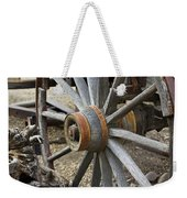Old Waagon Wheel Weekender Tote Bag
