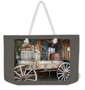 Old Wagon And Barrell Weekender Tote Bag