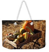 Old Wagon Full Of Autumn Fruit Weekender Tote Bag by Garry Gay