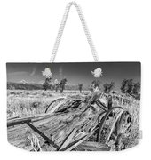 Old Wagon, Jackson Hole Weekender Tote Bag