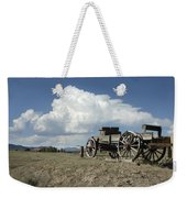 Old Wagon Out West Weekender Tote Bag by Jerry McElroy