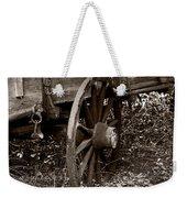 Old Wagon Wheel Weekender Tote Bag