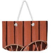 Old Wagon Wheels IIi Weekender Tote Bag