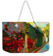 Old Wall Of The Ancient City Weekender Tote Bag