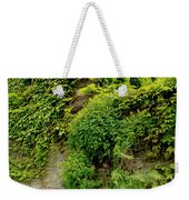 Old Walls Rising From The Water Edge. Weekender Tote Bag