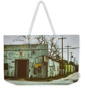 Old Warehouse Weekender Tote Bag