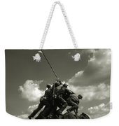 Old Washington Photo - Iwo Jima War Memorial Weekender Tote Bag