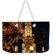 Old Water Tower, Intersection Weekender Tote Bag