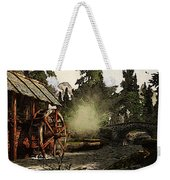 Old Watermill In The Forest Weekender Tote Bag