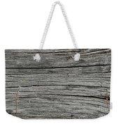 Old Weathered Wood Board Weekender Tote Bag