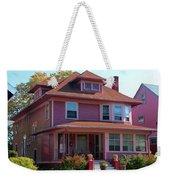 Old West End Pink 5 Weekender Tote Bag