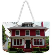 Old West End Red 4 Weekender Tote Bag