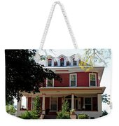 Old West End Red 7 Weekender Tote Bag