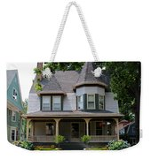 Old West End White 8 Weekender Tote Bag