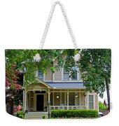 Old West End White 9 Weekender Tote Bag