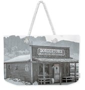 Old West With Superstition Mountains Weekender Tote Bag