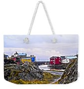 Old Whaling Village Nyksund Weekender Tote Bag
